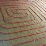 מערכת חימום תת רצפתי צנרת אדומה